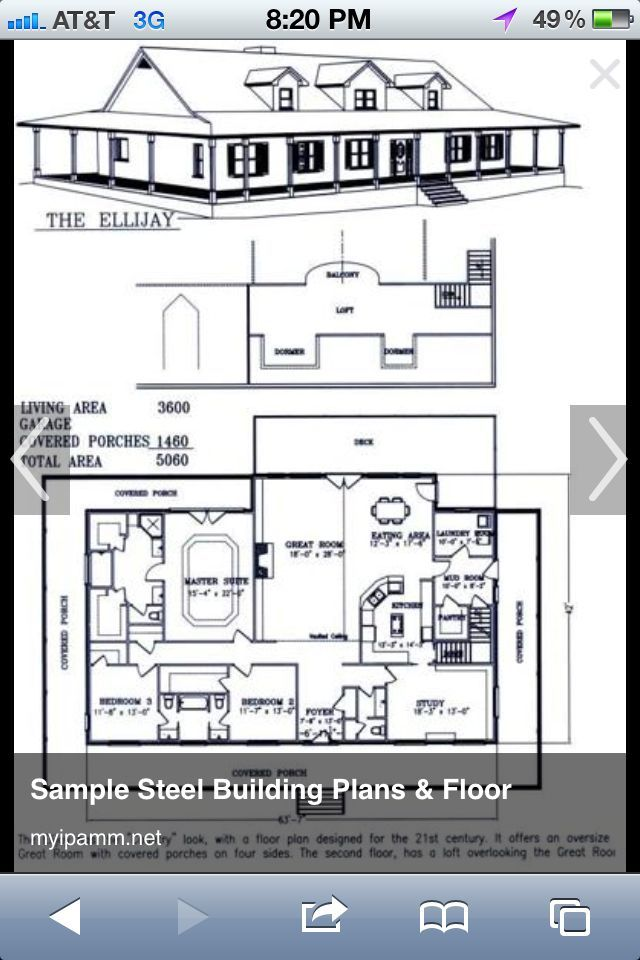 Barndominium Floor Plans Story Bedroom Shop Cost Open
