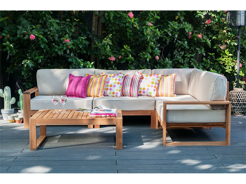Conforama Ch Gartensofa Lounge Salontisch
