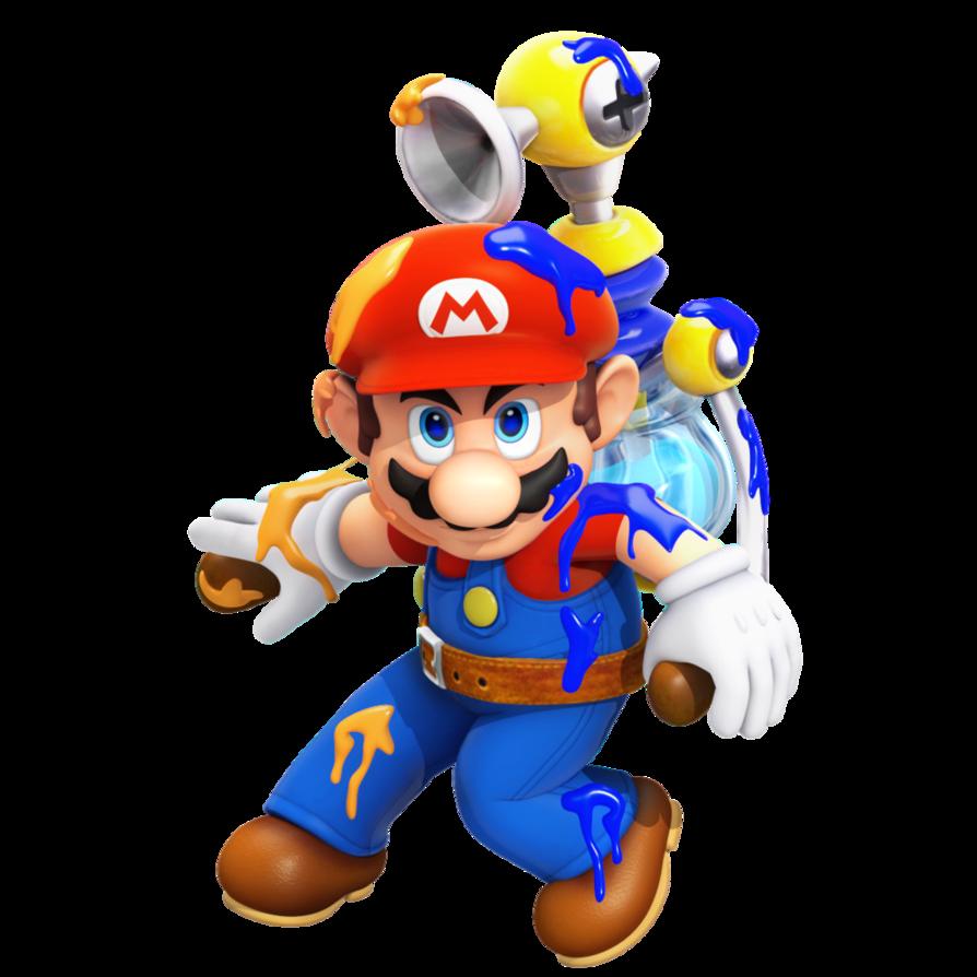 Splatmario By Nibroc Rock Super Mario Sunshine Super Mario Bros Super Mario Art