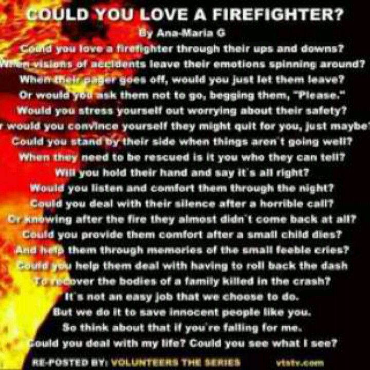 Firefighter Love Quotes Enchanting Could You Love A Firefighter Firefighter Pinterest