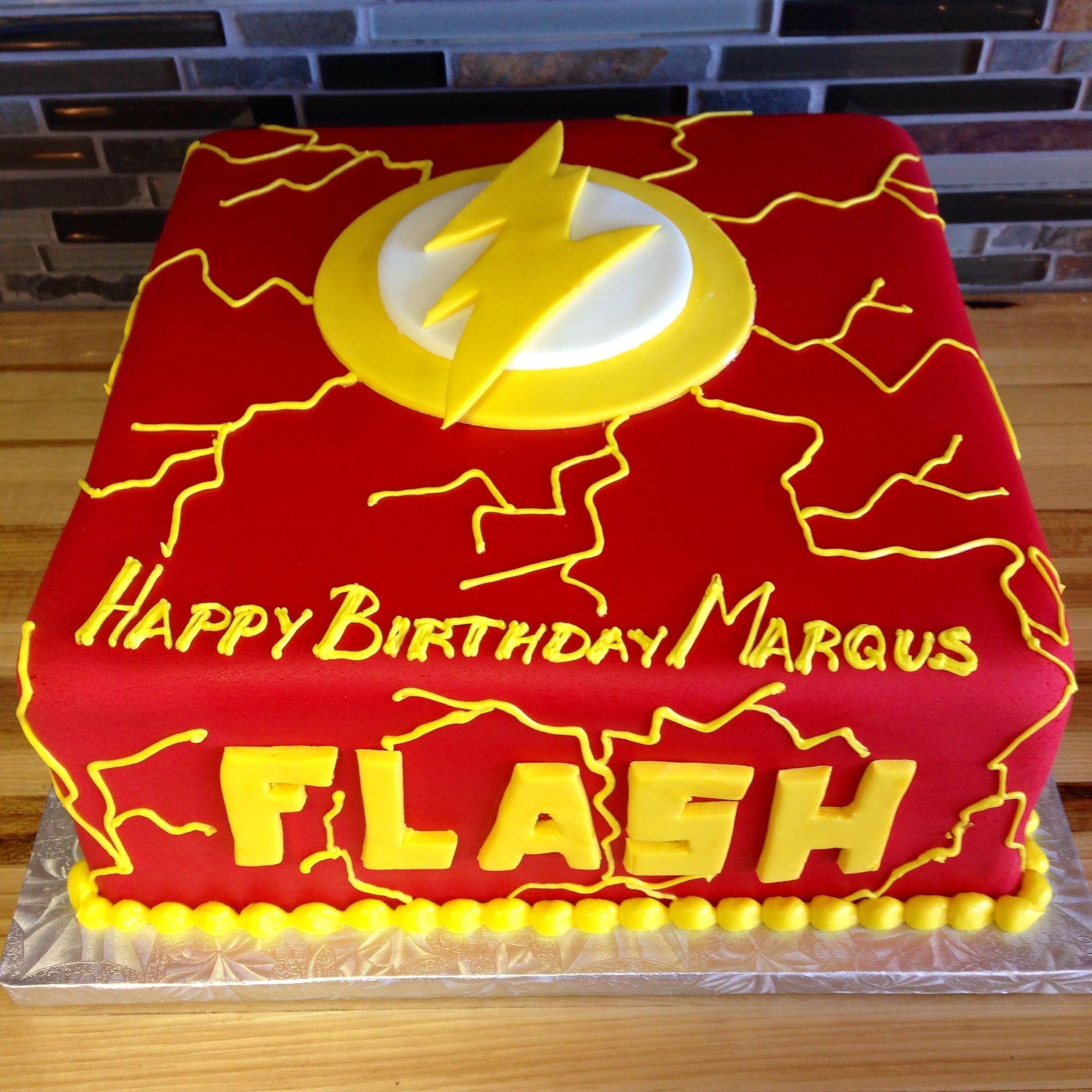 Flash birthday cake | Kids Birthday Cakes in 2019 | Flash cake ...