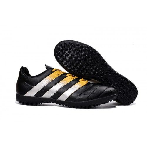 online store 01bb7 78c6f Adidas ACE 16.3 TF Mens Soccer Cleats Black White Gold
