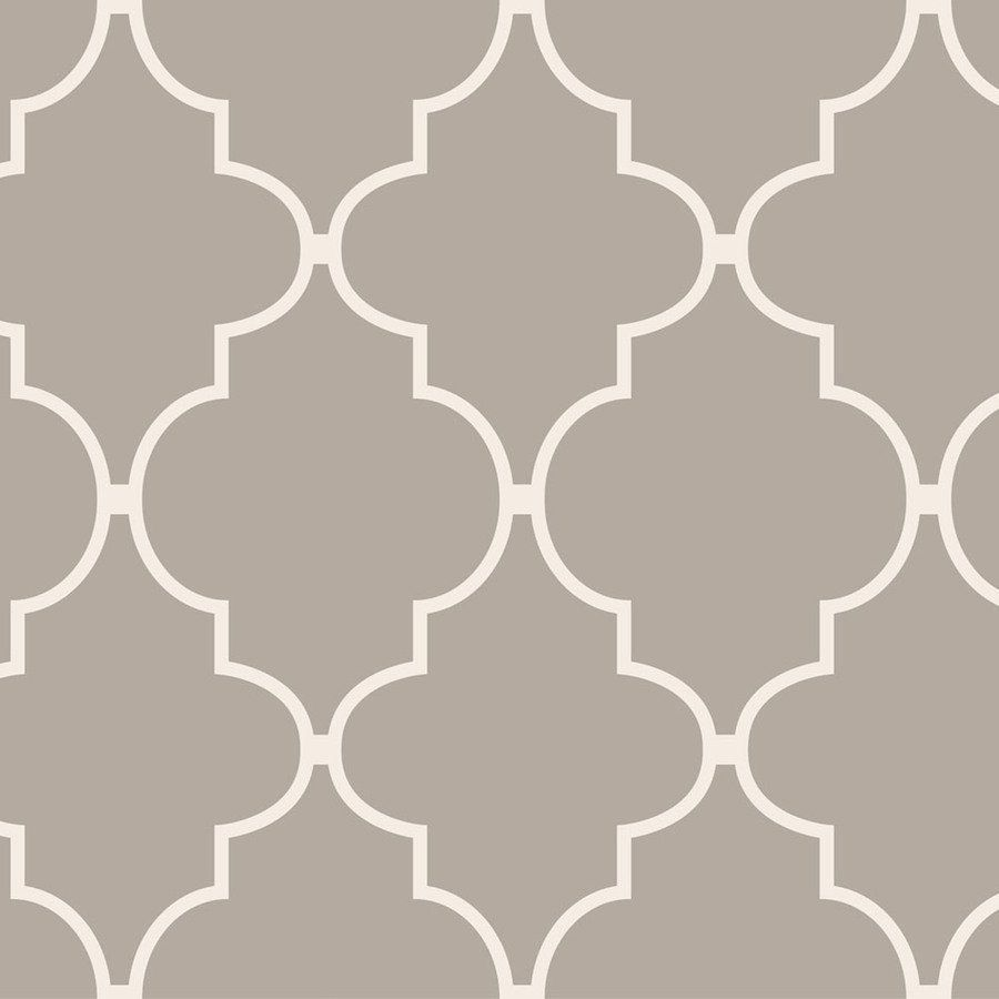 Cheap Wall Paper allen + roth 30-402 spanish tile wallpaper | lowe's canada
