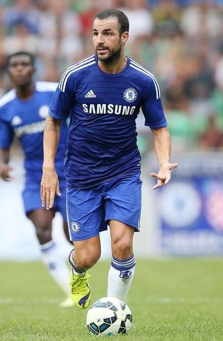 First game of the season. Let's go! Cesc Fàbregas