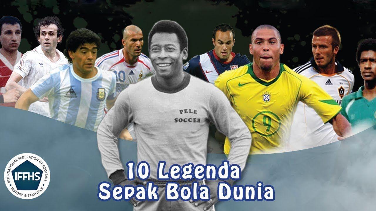 10 Legenda Sepak Bola Dunia