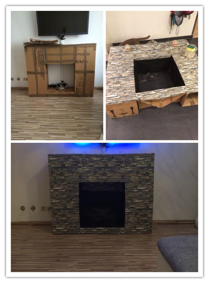 kamin aus karton karton christmas fireplace fireplace hearth ve concrete fireplace. Black Bedroom Furniture Sets. Home Design Ideas