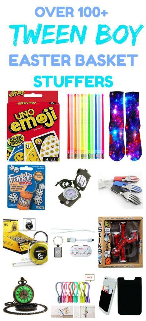 101+ Stocking Stuffer Ideas for Tween Boys That Aren't Junk! (Small Gifts) #stockingstuffersforkids