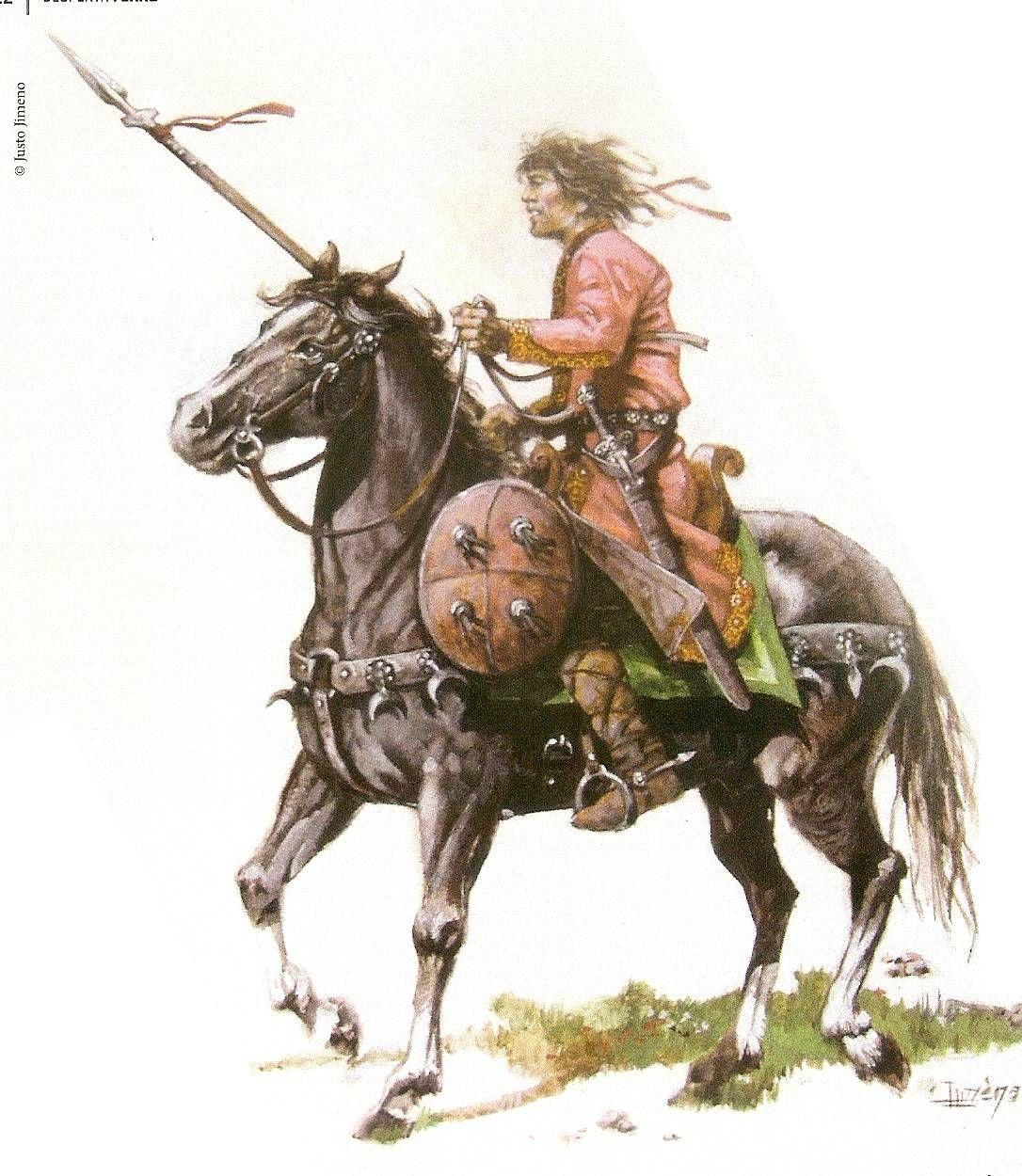 Justo Jimeno - Guerrero castellano (cristiano) del siglo X