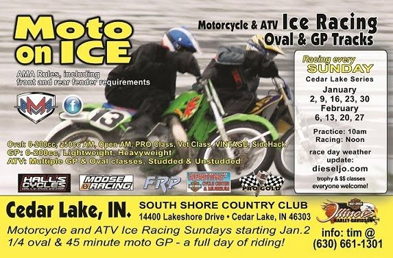 Ice Racing Cedar Lake Indiana Cedar Lake Cedar Lake Indiana Racing