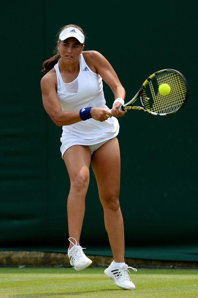 Tennis stars upskirt