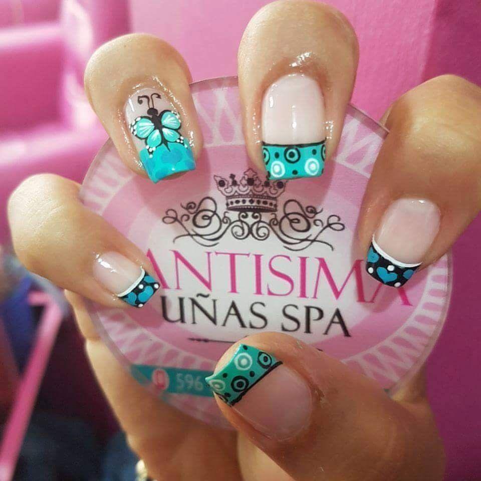 Pin de jhosmailyn machado en uñas | Pinterest | Peinado fácil ...