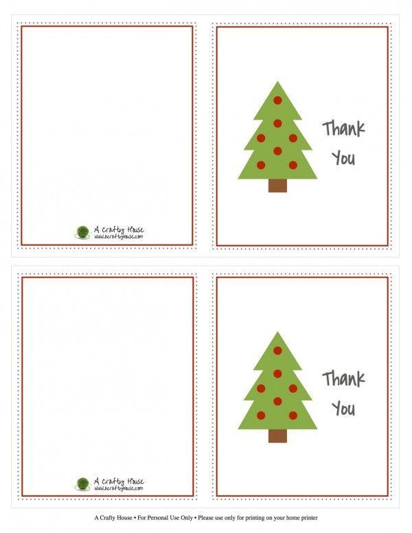 Kids Christmas Thank You Note Printables Design Dazzle Christmas Note Cards Christmas Card Sentiments Free Printable Christmas Cards