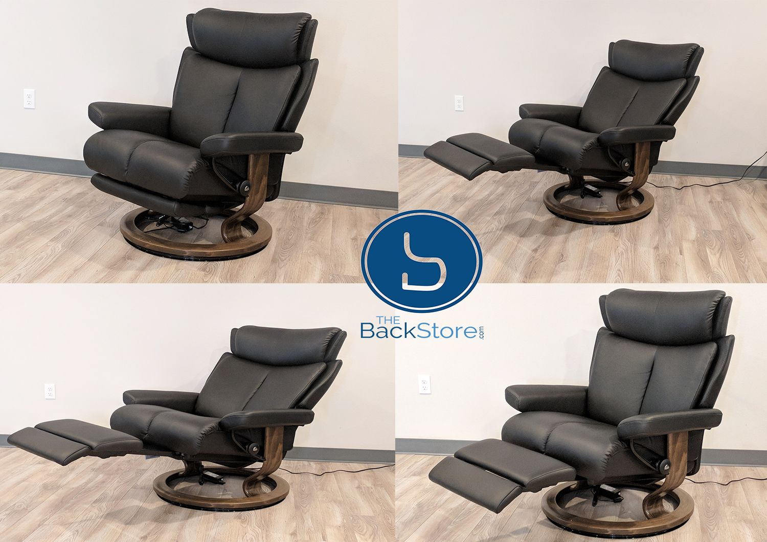 Stressless Magic Recliner With Stressless Power By Ekornes