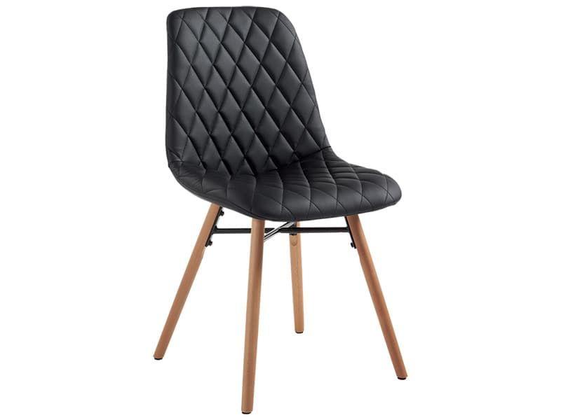 Stuhl Lif Synthetisches Leder Schwarz 274695 In 2020 Stuhle Sofas Wohnzimmer Leder