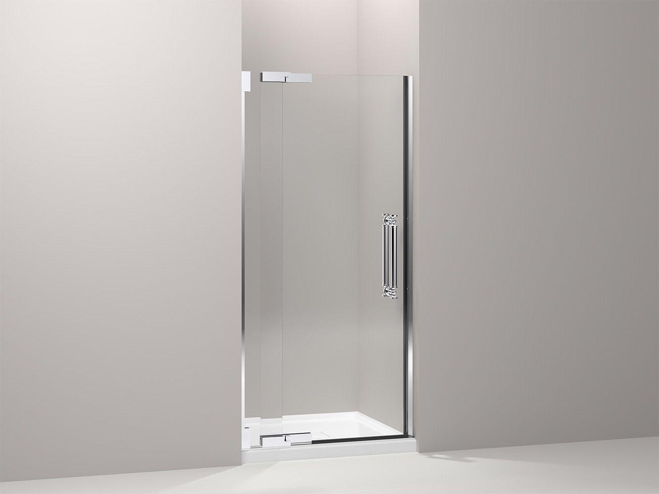 Pinstripe 35 75 X 72 25 Pivot Shower Door Shower Doors