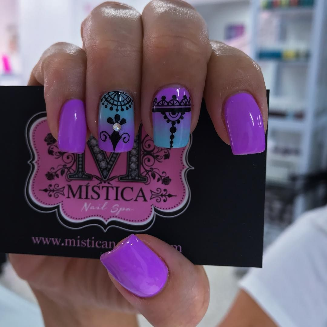 Uñas Semipermanentes Decoradas Pin De Laura Caballero En Uñas Decoradas En 2019 Pinterest