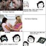 Funny Meme about Boys