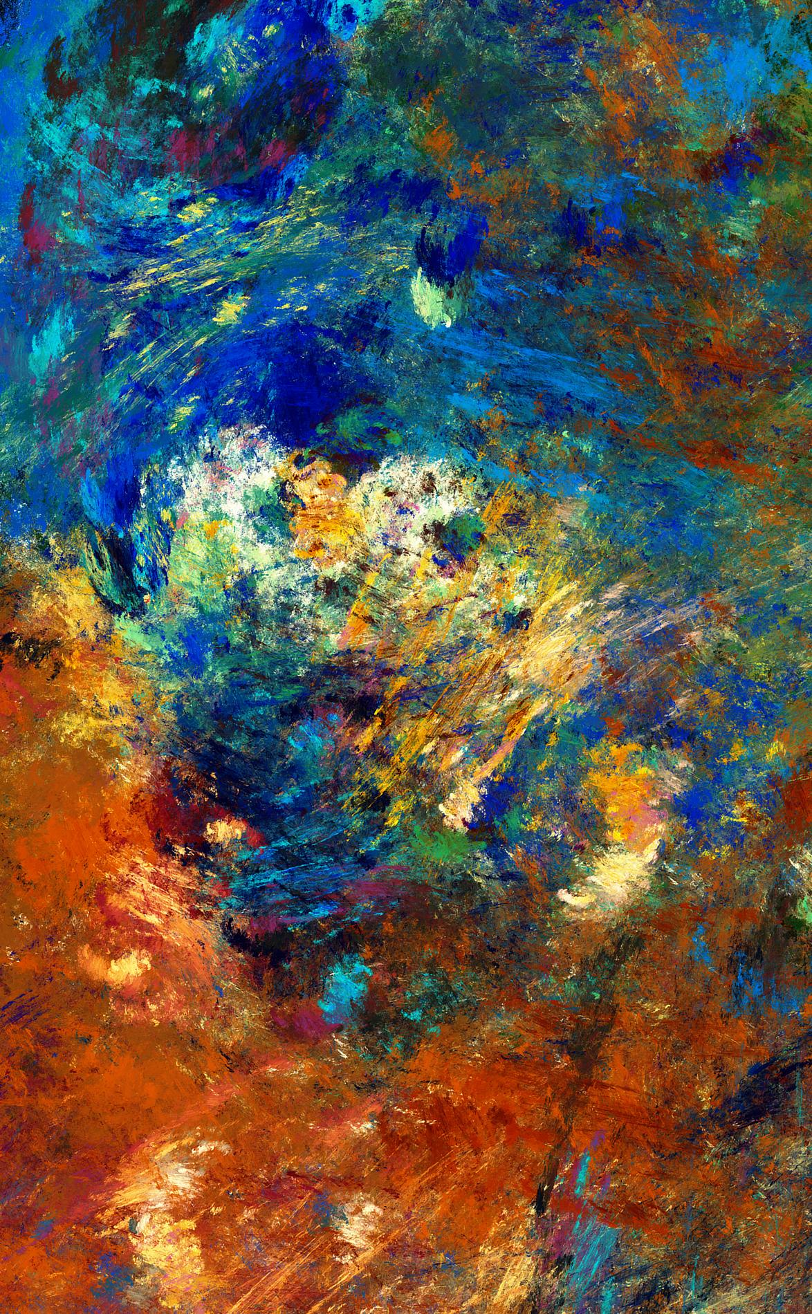 Abstract No. 12 Creation Myth by FarDareisMai Creation