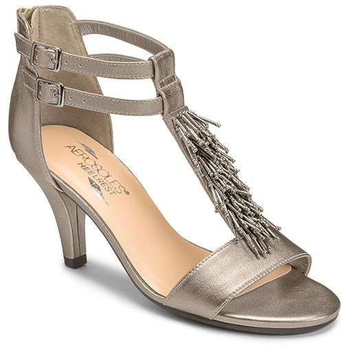 View our Interlux Fringe Dress Sandal at Aerosoles. Shop our large variety  of comfortable, fashionable, and affordable Women's High Heels