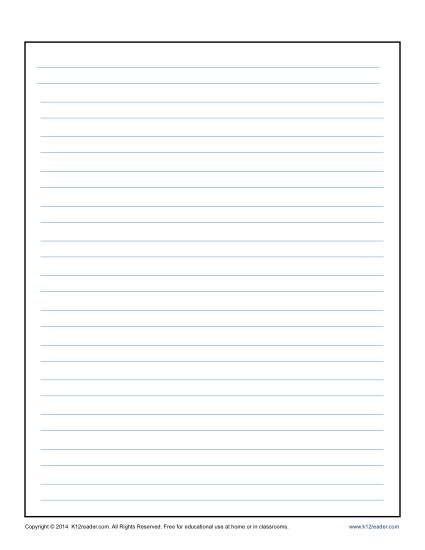 Lined Writing Paper For Kids Lined Writing Paper Writing Paper Writing Paper Template