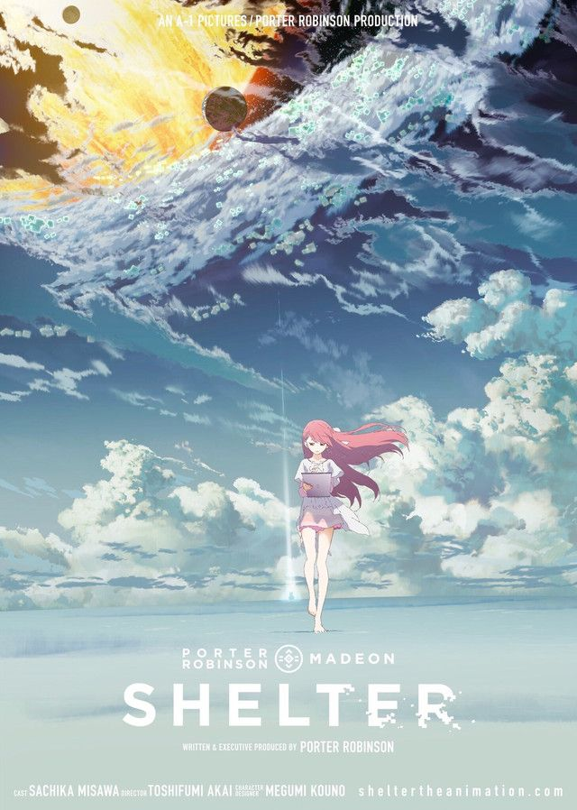 Porter Robinson And A 1 Pictures Team Up On Shelter Anime