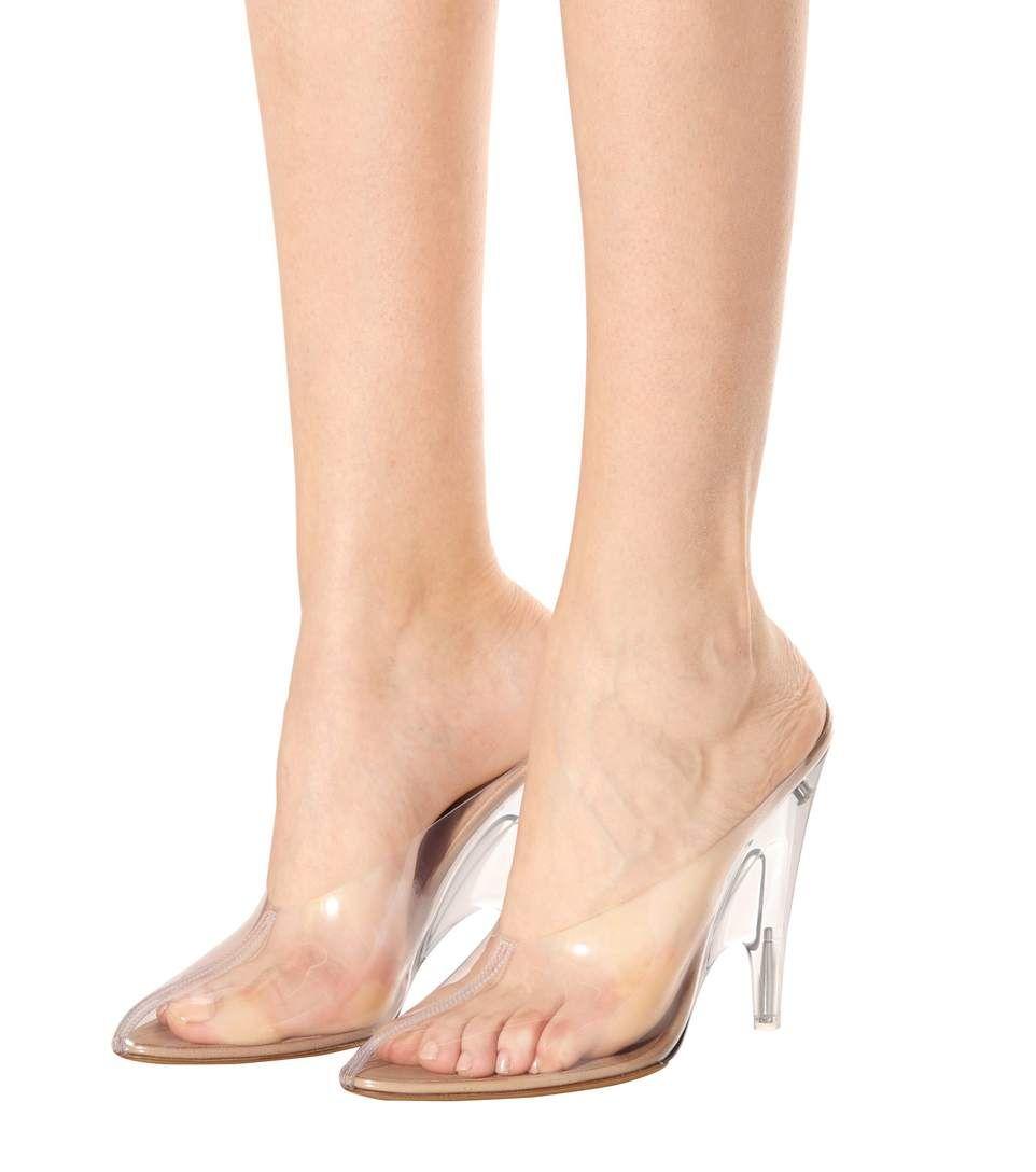 a7749aea45 Yeezy - Transparent mules (SEASON 4) | mytheresa.com | shoes | Mules ...