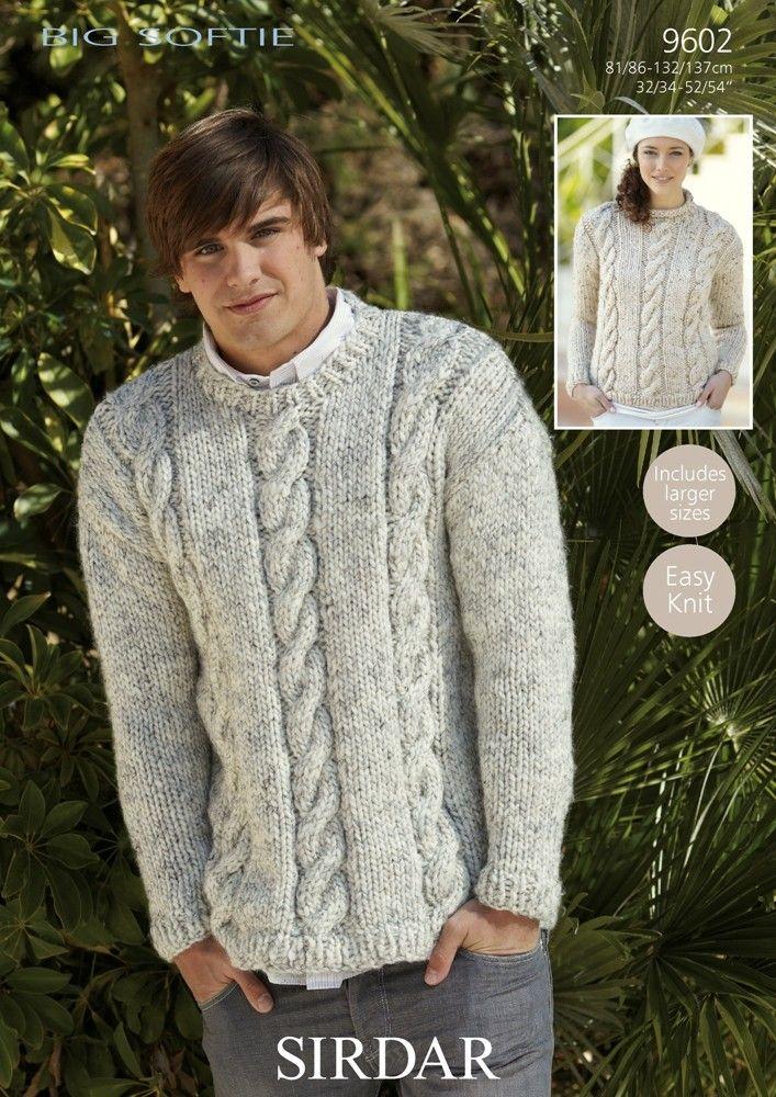 Sweaters In Sirdar Big Softie Patterns Knit Patterns