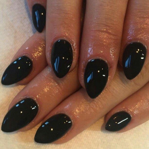☽Luna⟡Tusuna☾ Short, black stilettos; so cute and hot and they ...