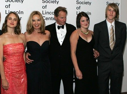 Sam Shepard Jessica Lange And Their Two Children Along With Jessicas