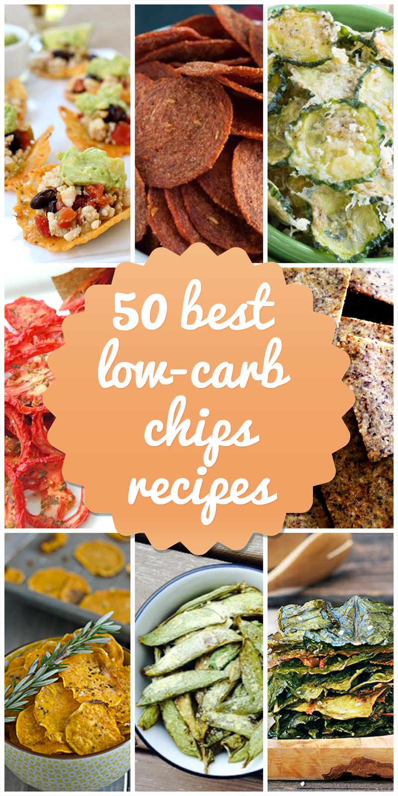50 Ways To Enjoy Chips On A Low Carb Diet Carb Free Recipes Low
