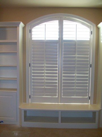 Arched Shutters Let In Cool Breezes But Keep Hot Sunlight