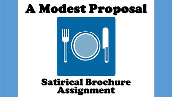 a modest proposal examples of satire