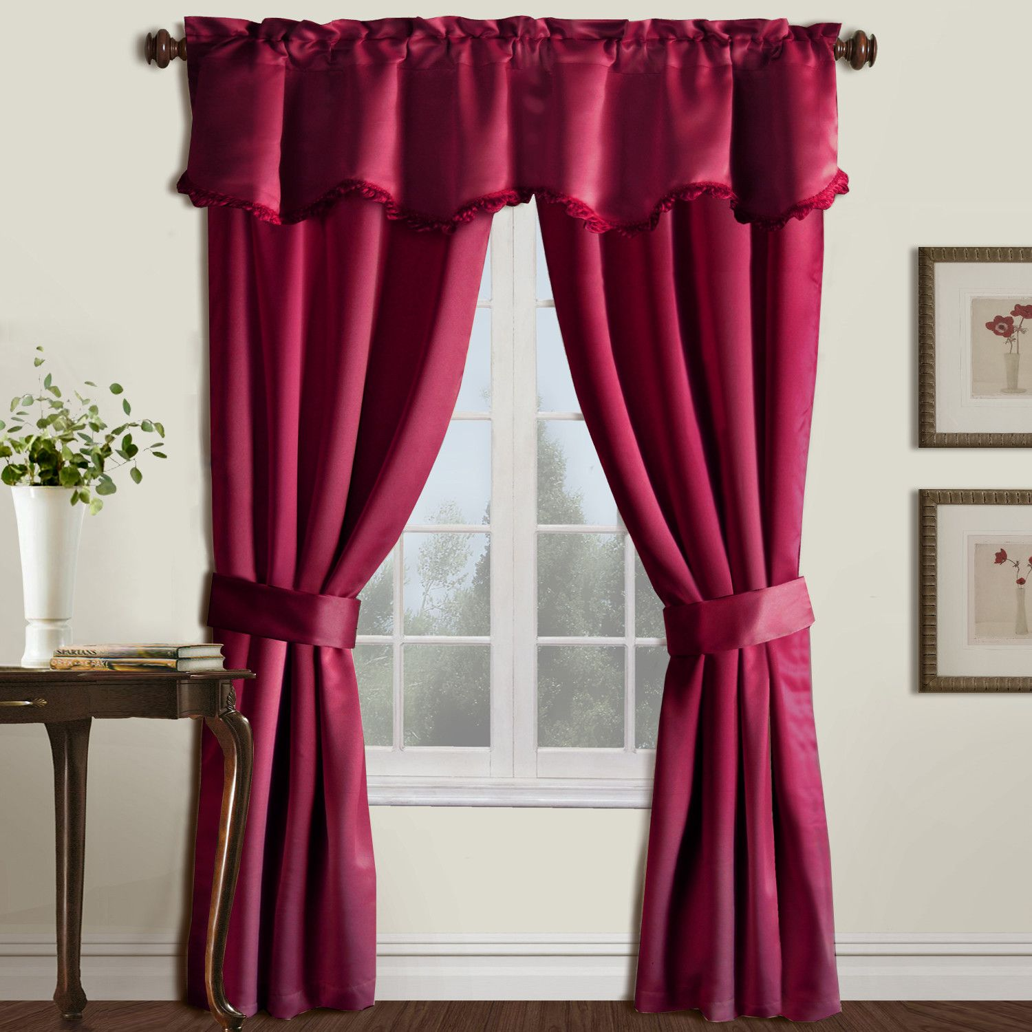 Anthony 5 Piece Rod Pocket Curtain Set Cool Curtains Curtain