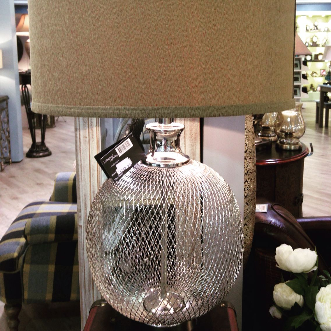 Found this gorgeous lamp base in mindy brownes at arnotts today arnotts