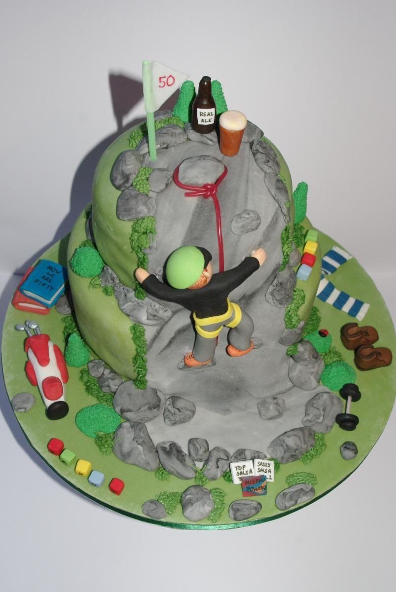 Rock Climbing Cake Cakes Cupcake Birthday