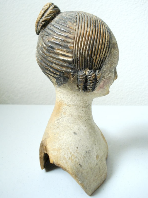 Doll's head, 1840