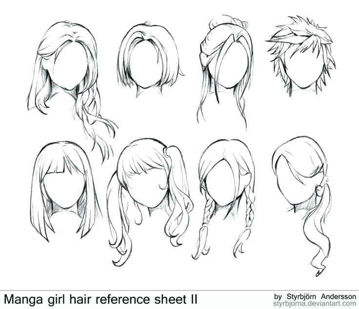 Draw Template Anime Sketching Group Template Google Search Learning My Fashion Face Drawing Template Makeup Manga Hair How To Draw Hair Female Anime Hairstyles