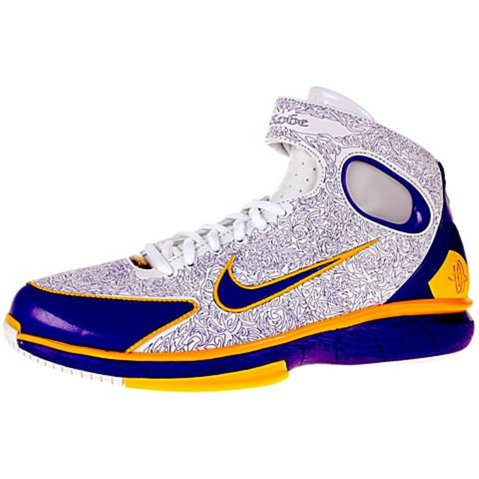 0b1d231ad10b Nike air zoom huarache 2k4 basketball shoes. Kobe Bryant Laser Edition.