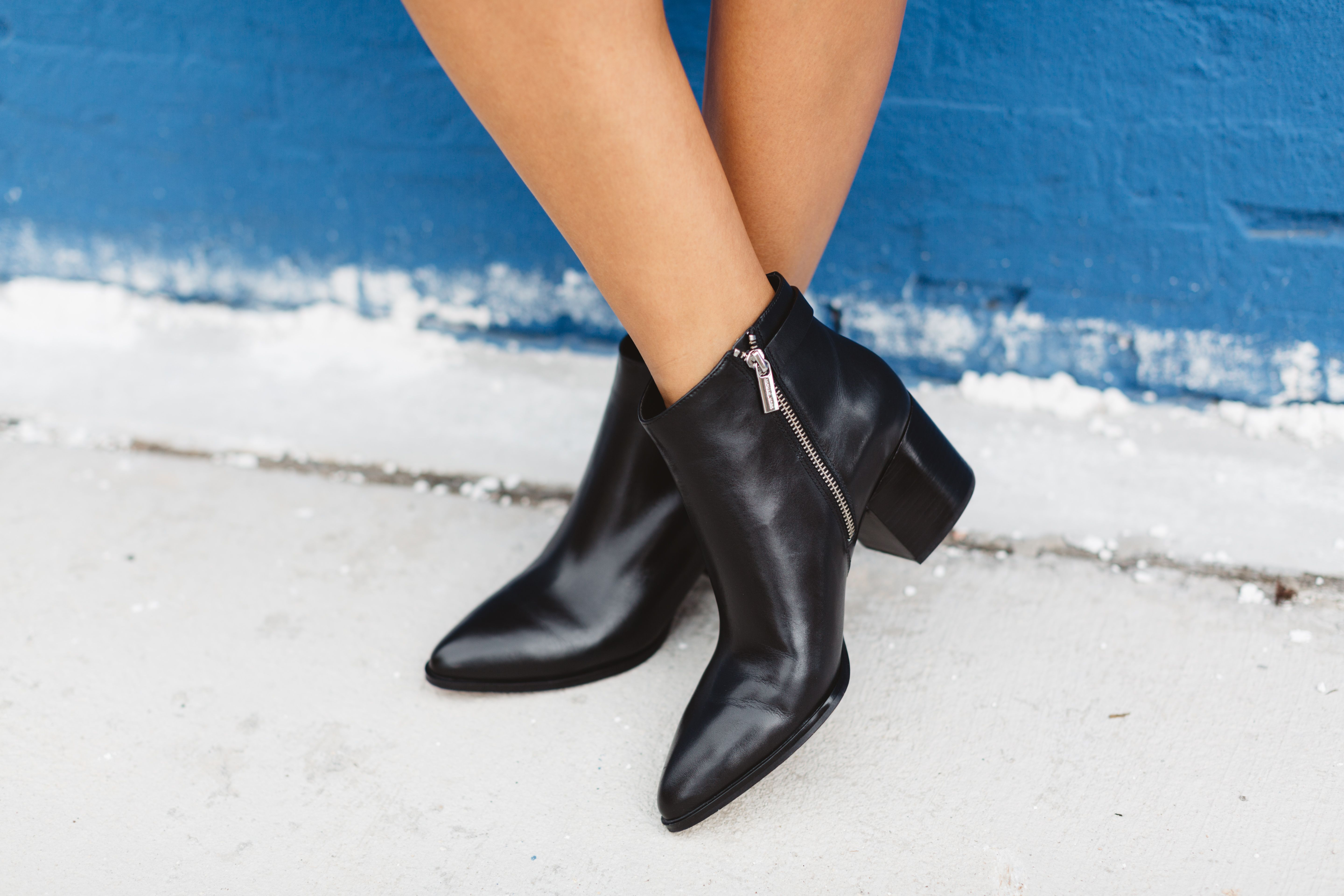 the best black booties for fall