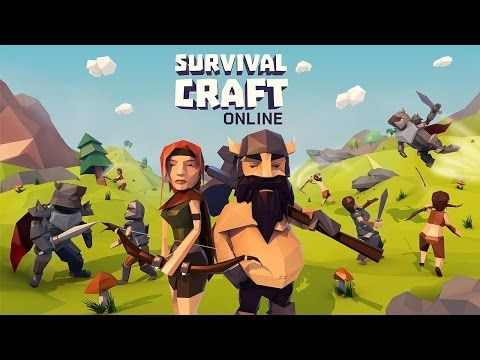 Survival Craft Online Android Game First Look Gameplay Espanol