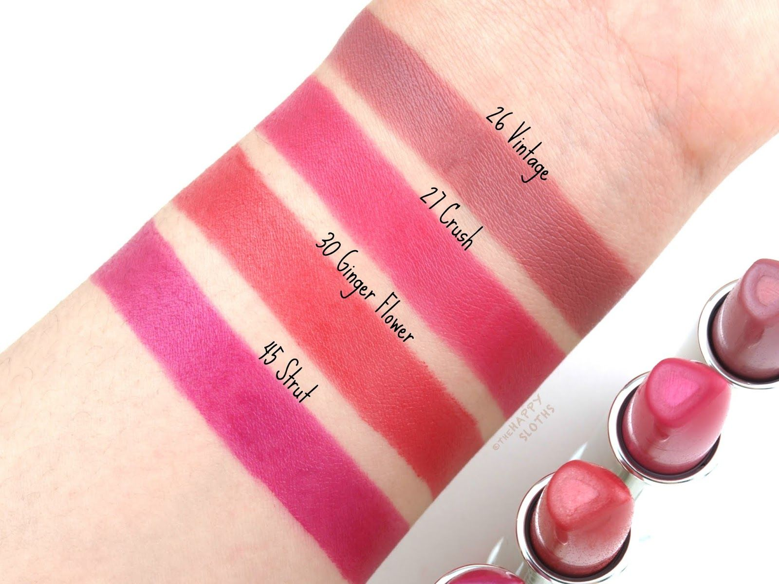 Clinique Dramatically Different Lipstick Shaping Lip Color Review And Swatches Lip Colors Lip Gloss Colors Ginger Flower