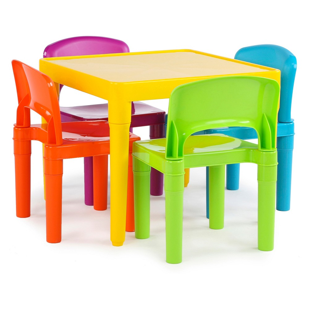 Superbe Plastic Table And 4 Chairs   Primary   Tot Tutors