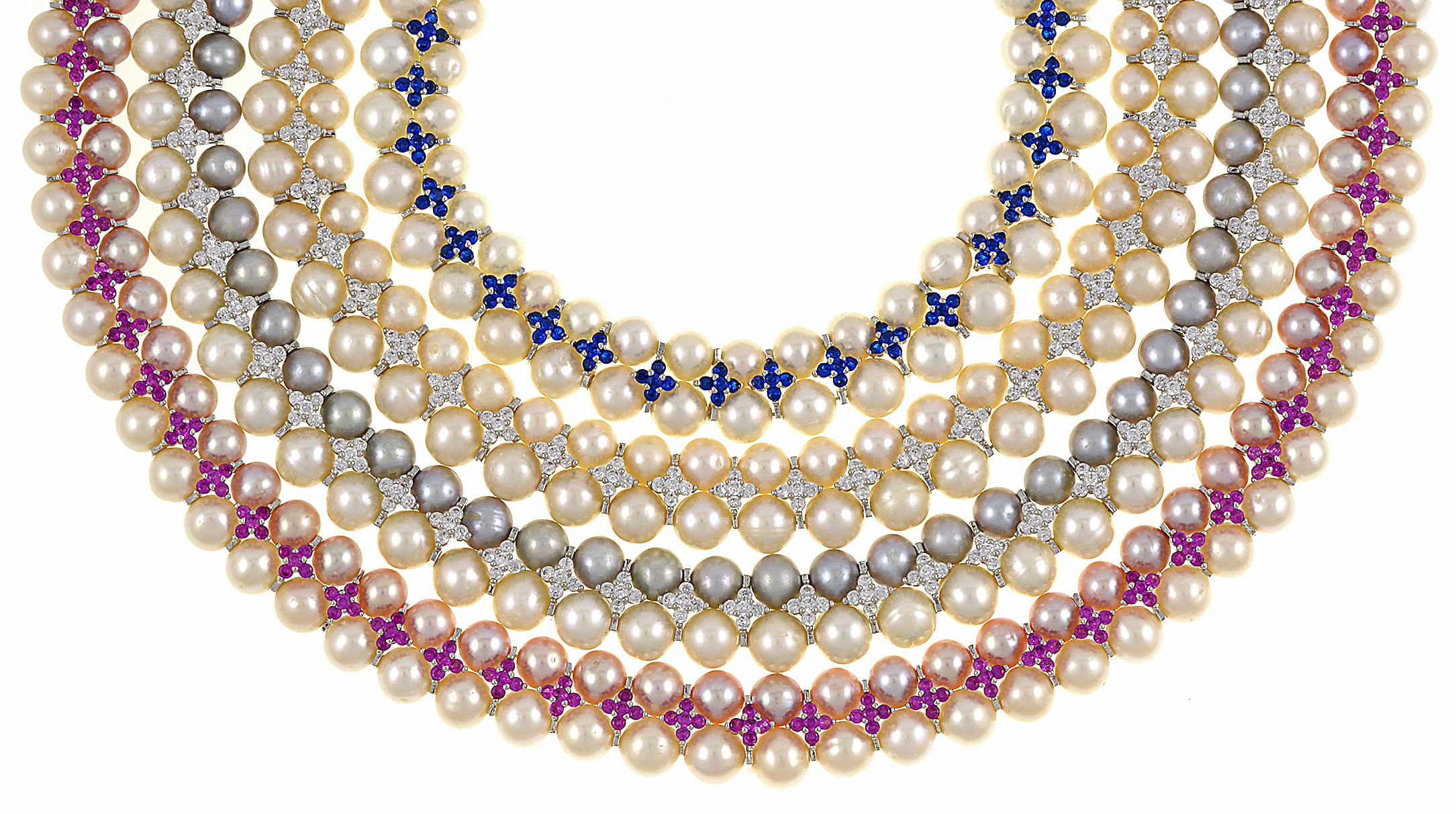 pearl products victoria s princess kingdom mg white pearls necklace