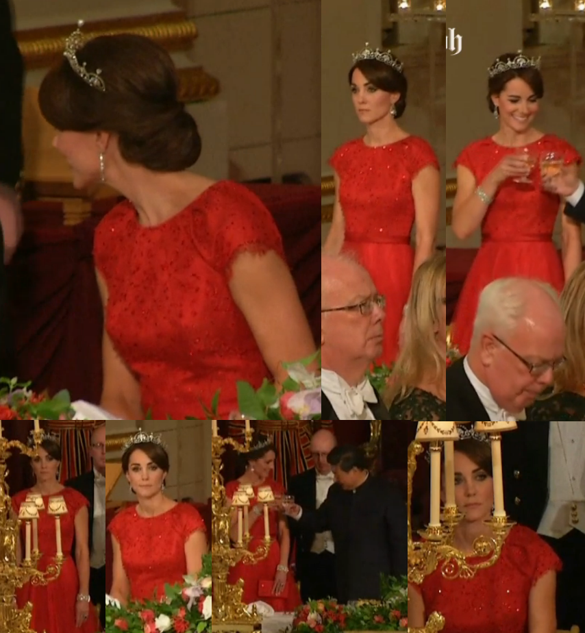 Kate Middleton Wears The Lotus Flower Tiara To Her First Ever State