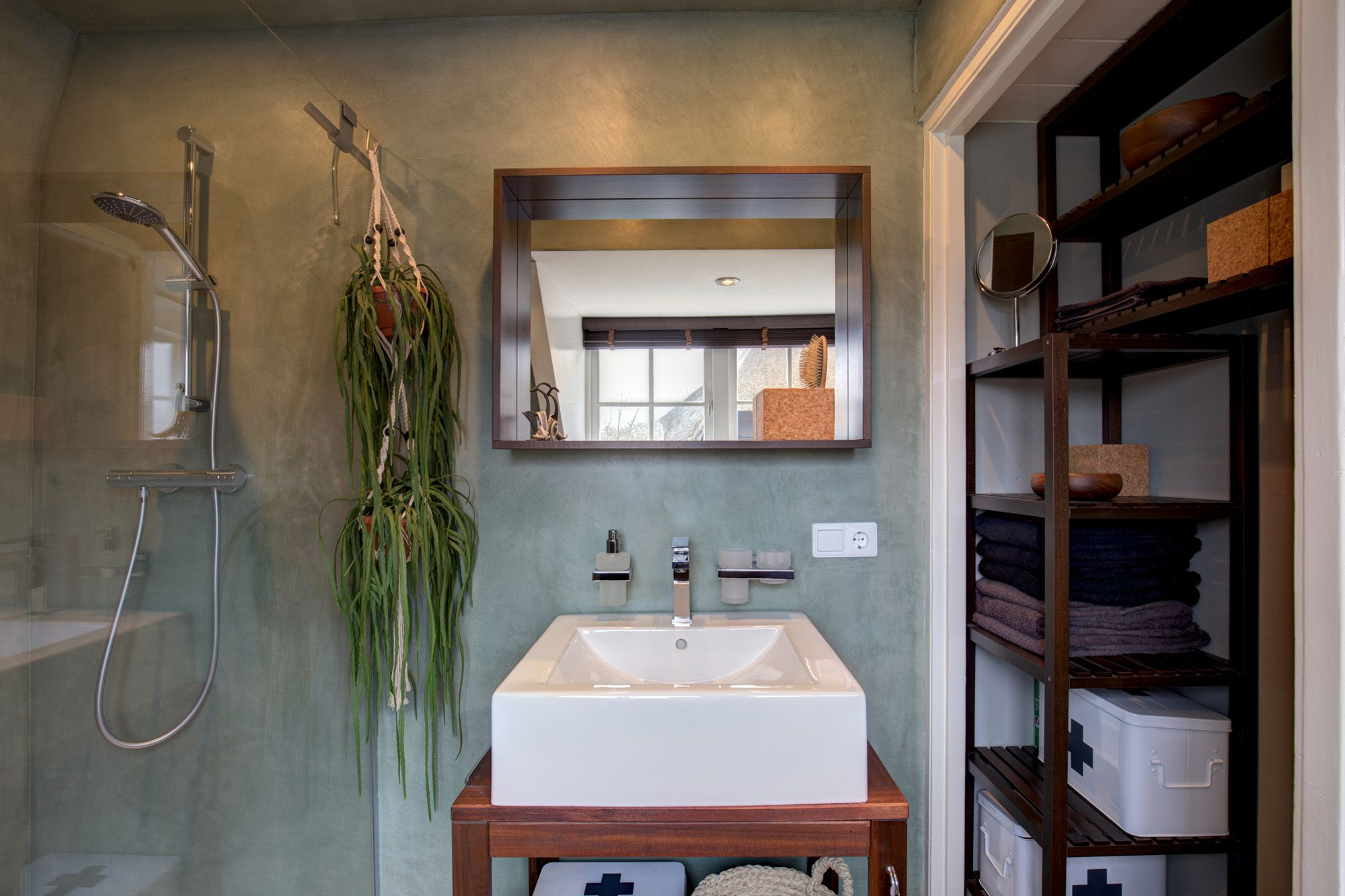 Badkamer tadelakt warnsveld badkamer bosveld huis