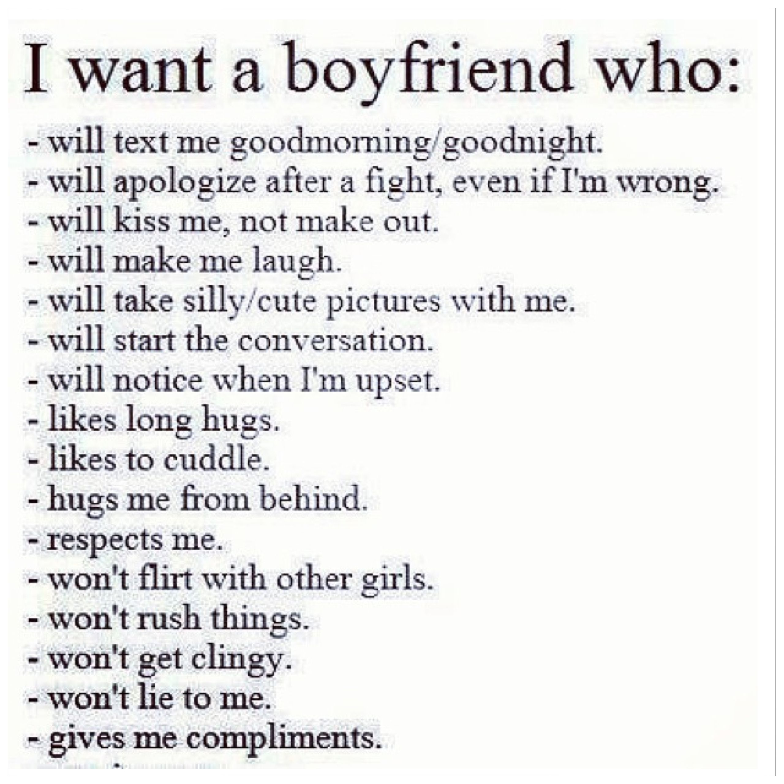 I Want A Boyfriend Who Boys Who Boyfriend Quotes Love