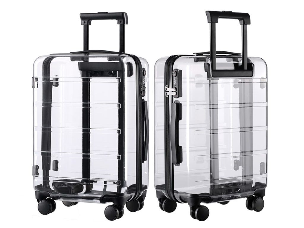 21f827c99b IUIGA 'The Really Transparent Luggage' | Bags For Boys And Girls ...