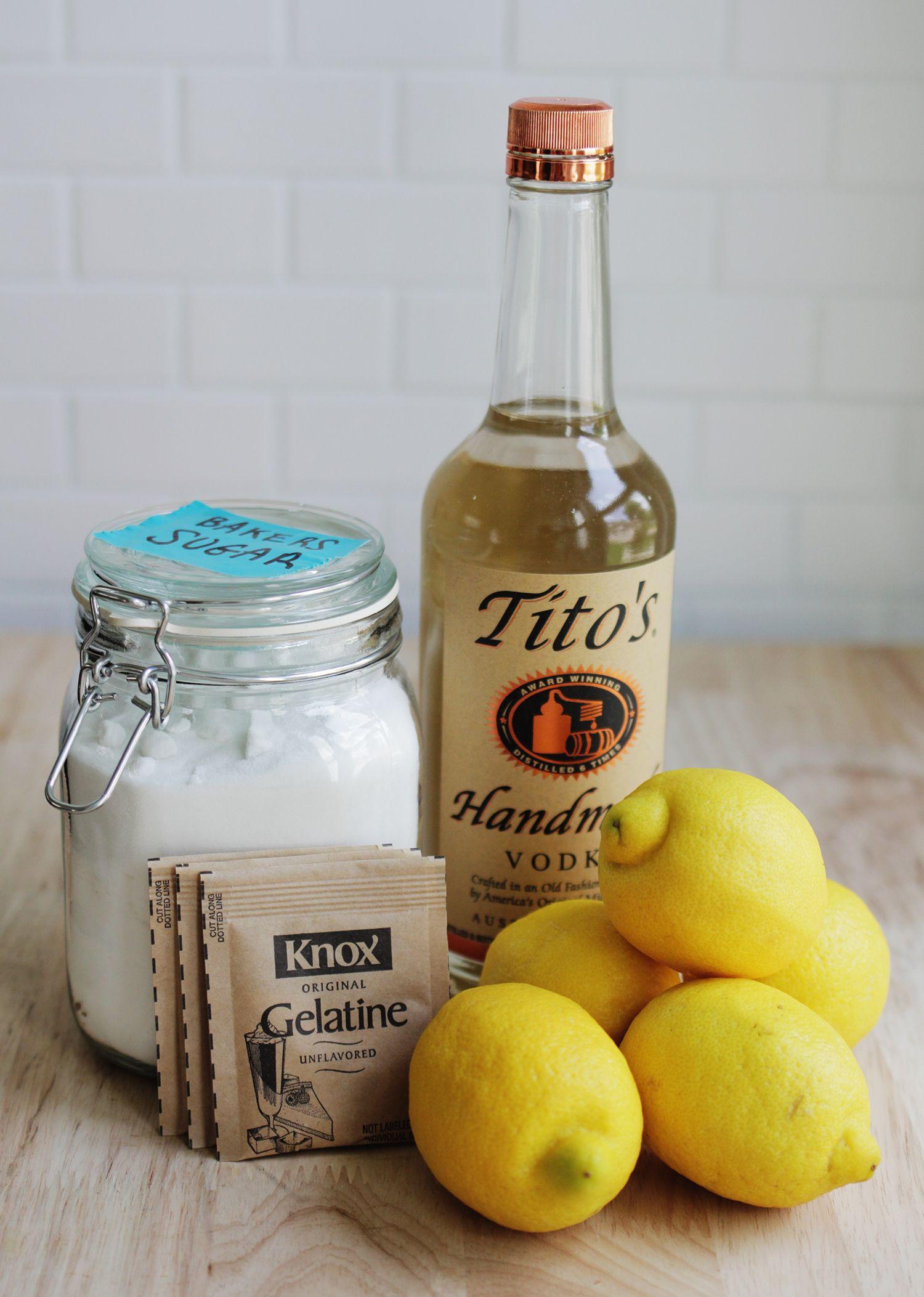 Lemon drop jello shots recipe jello shots lemon jello