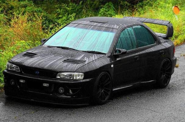 4 Door Black And 22b Body Kit For The Win Automoviles Autos Automocion