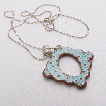Cara Long: Sweet Mud - Frame Necklace